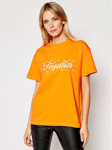Local Heroes T-Shirt Better Together SS21T0016 Pomarańczowy Relaxed Fit 169.00PLN