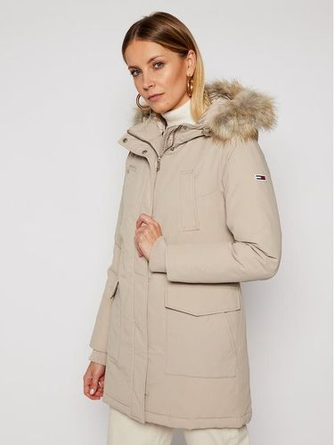 Tommy Jeans Parka Technical Down DW0DW09063 Beżowy Regular Fit 1039.00PLN