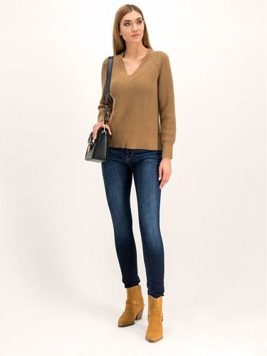 MICHAEL Michael Kors Sweter Shaker MF96P0YCHM Brązowy Relaxed Fit 509.00PLN