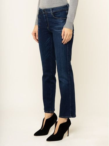 Guess Jeansy Curvy Fit Sexy Straight Ankle W01A48 D38R5 Granatowy Curvy Fit 239.00PLN
