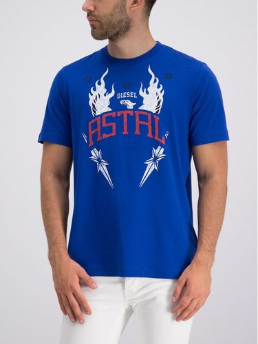 Diesel T-Shirt T-Just-AS 00SW9P 0BASU Granatowy Relaxed Fit 149.00PLN