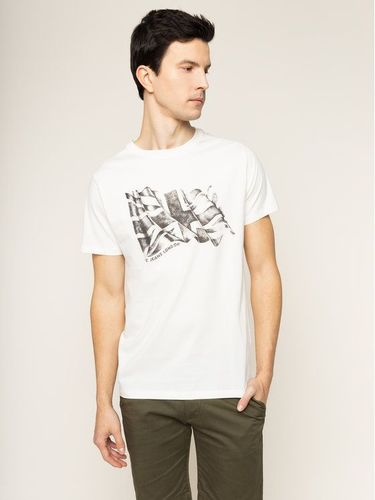 Pepe Jeans T-Shirt Betrand PM506906 Beżowy Regular Fit 99.00PLN